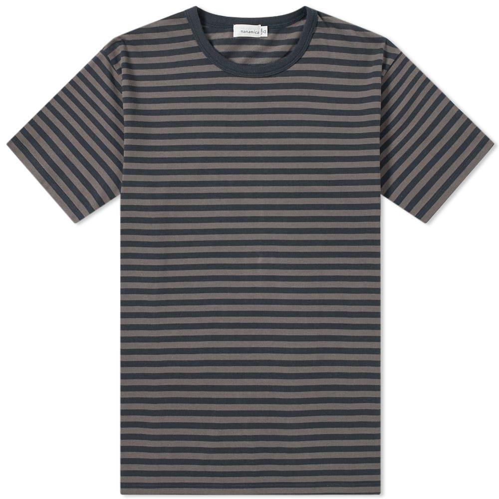 ナナミカ Nanamica メンズ Tシャツ トップス【coolmax st. jersey tee】Dark Navy/Charcoal