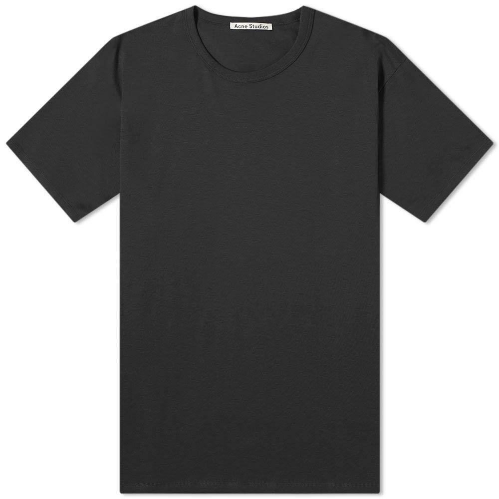 アクネ ストゥディオズ Acne Studios メンズ Tシャツ トップス【niagara tee】Black