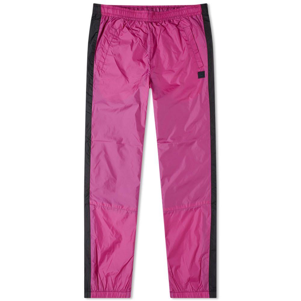 アクネ ストゥディオズ Acne Studios メンズ スウェット・ジャージ ボトムス・パンツ【phoenix face track pants】Magenta Pink