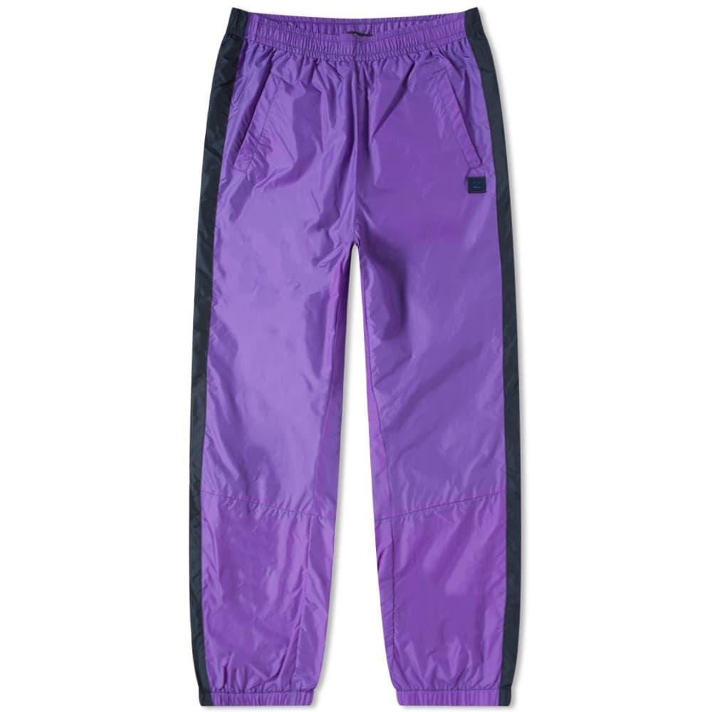アクネ ストゥディオズ Acne Studios メンズ スウェット・ジャージ ボトムス・パンツ【phoenix face nylon pant】Violet Purple