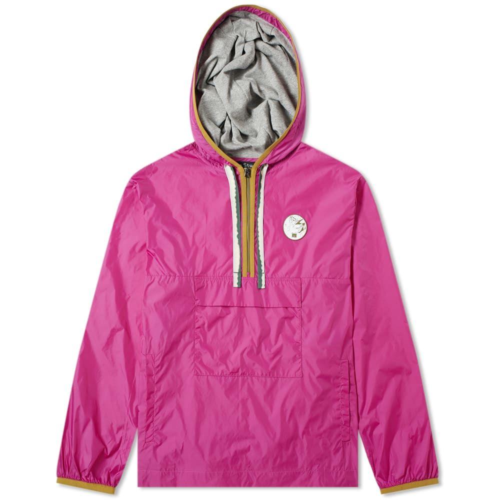 【高額売筋】 アクネ ストゥディオズ Acne Studios メンズ ジャケット アウター face【osaze face Pink ジャケット half zip jacket】Magenta Pink:フェルマート, パールネックレス Urbano:bbb9dee9 --- nagari.or.id