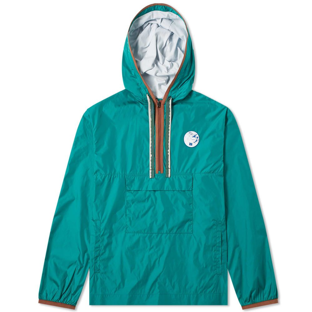 アクネ ストゥディオズ Acne Studios メンズ ジャケット アウター【osaze face half zip jacket】Bright Green