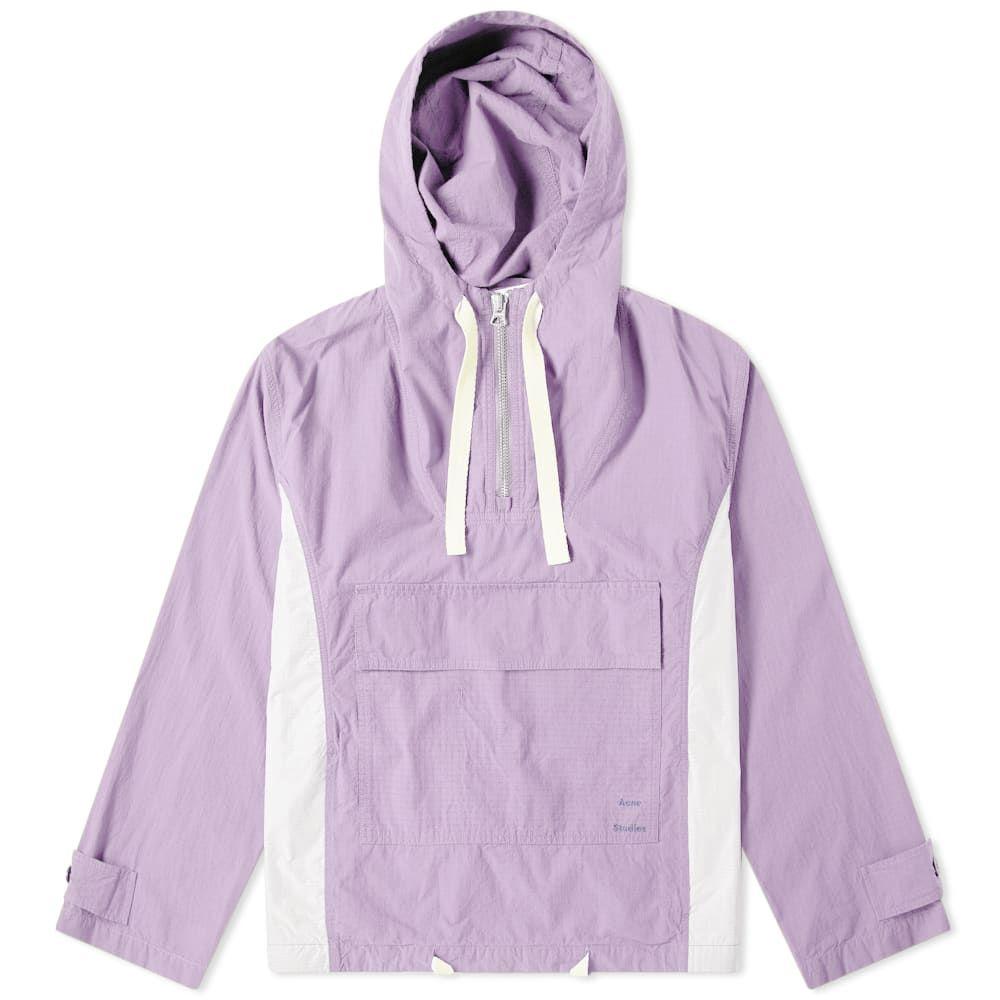 アクネ ストゥディオズ Acne Studios メンズ ジャケット アウター【ophion ripstop jacket】Lilac Purple