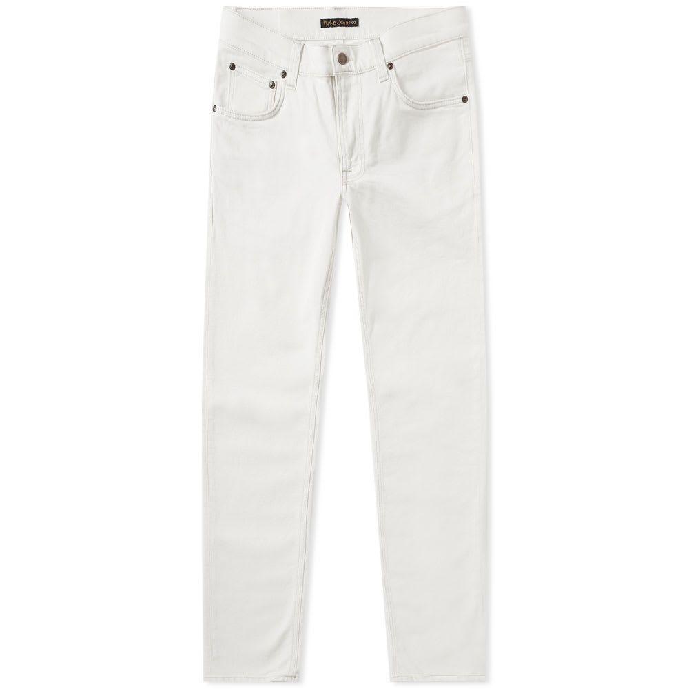 ヌーディージーンズ Nudie Jeans Co メンズ ジーンズ・デニム ボトムス・パンツ【nudie lean dean jean】Ecru