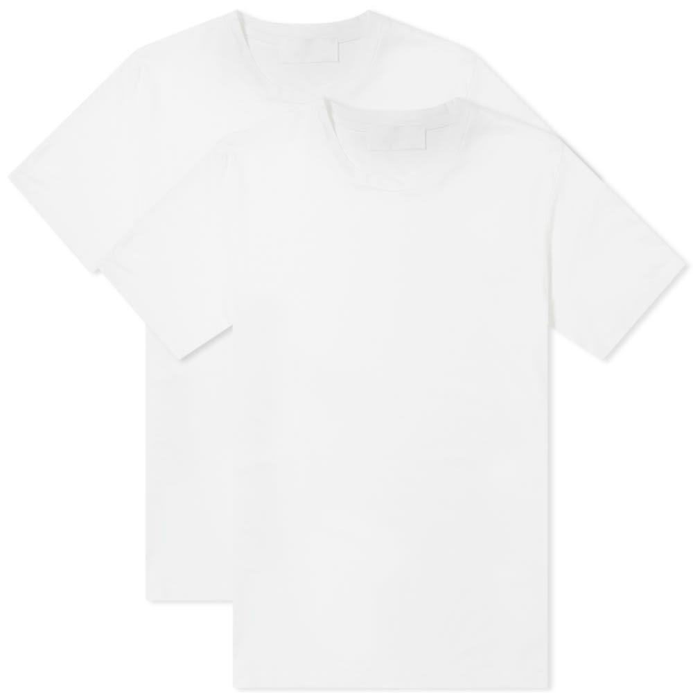 ニール バレット Neil Barrett メンズ Tシャツ トップス【twin pack travel tee】White