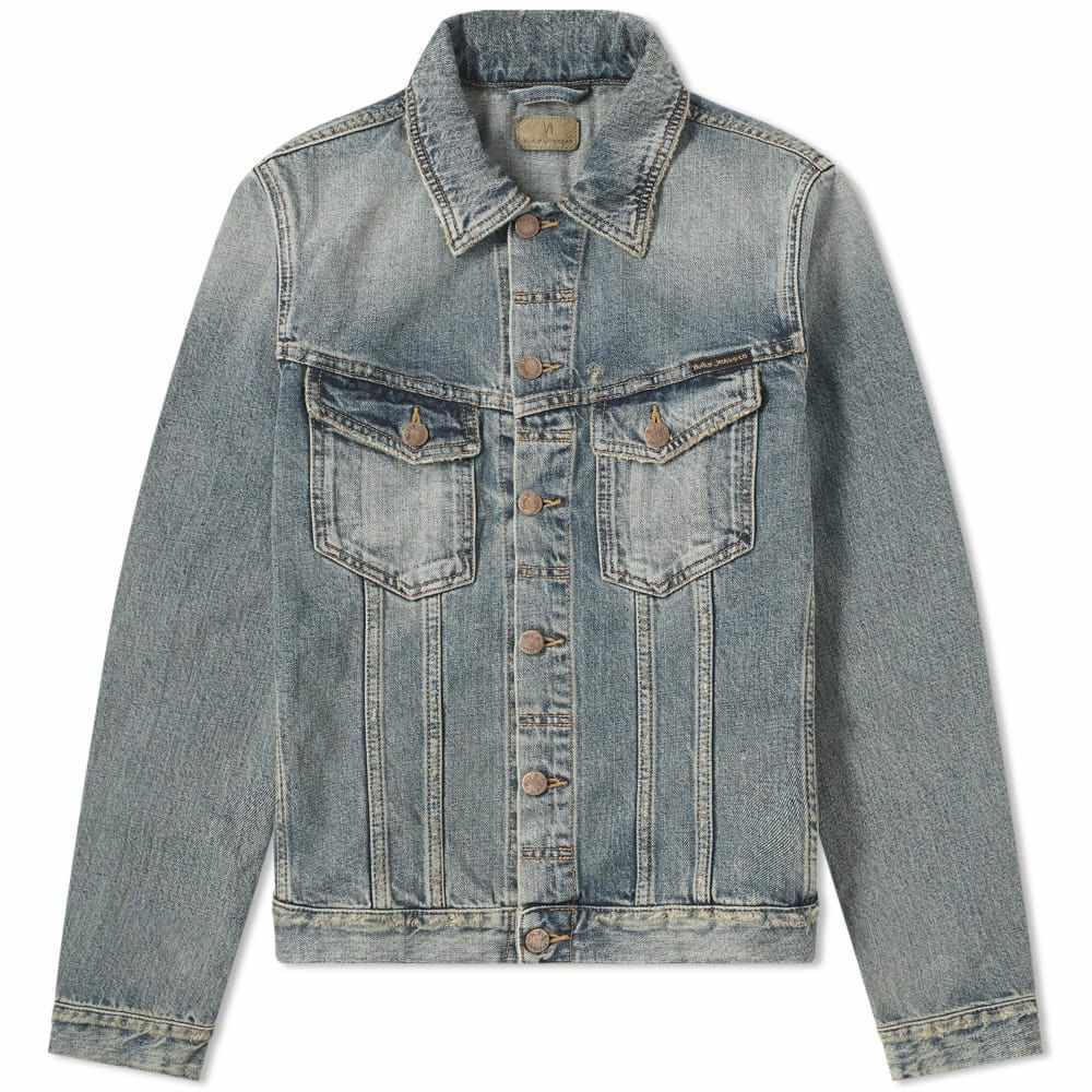 ヌーディージーンズ Nudie Jeans Co メンズ ジャケット Gジャン アウター【nudie billy shimmmering indigo denim jacket】Denim