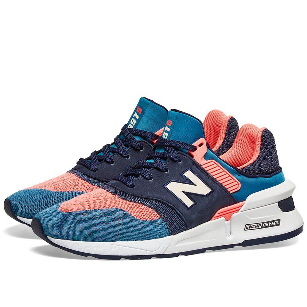 ニューバランス New Balance メンズ スニーカー シューズ・靴【ms997fhb】Blue