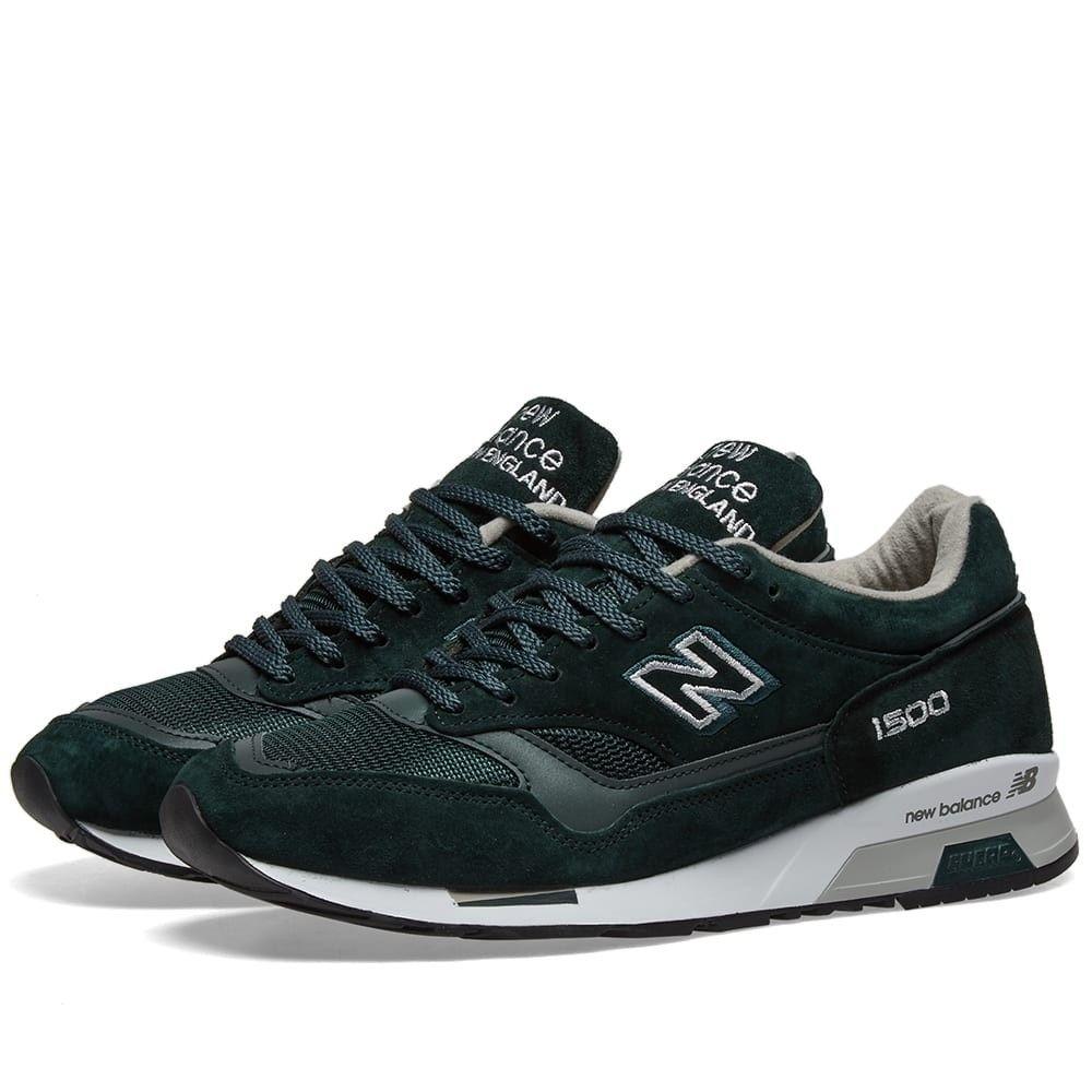 ニューバランス New Balance メンズ スニーカー シューズ・靴【m1500dgw - made in england】Forest Green