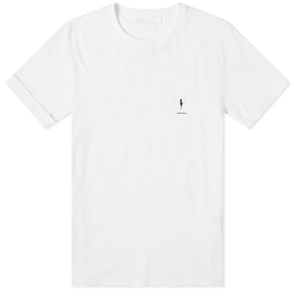 ニール バレット Neil Barrett メンズ Tシャツ トップス【collection date tee】White/Black