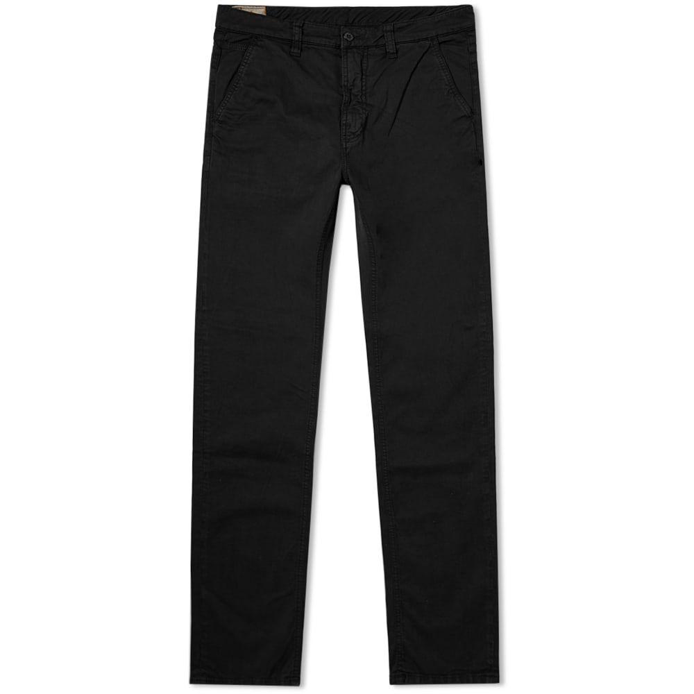 ヌーディージーンズ Nudie Jeans Co メンズ チノパン チノパン ボトムス・パンツ【nudie slim adam chino】Black