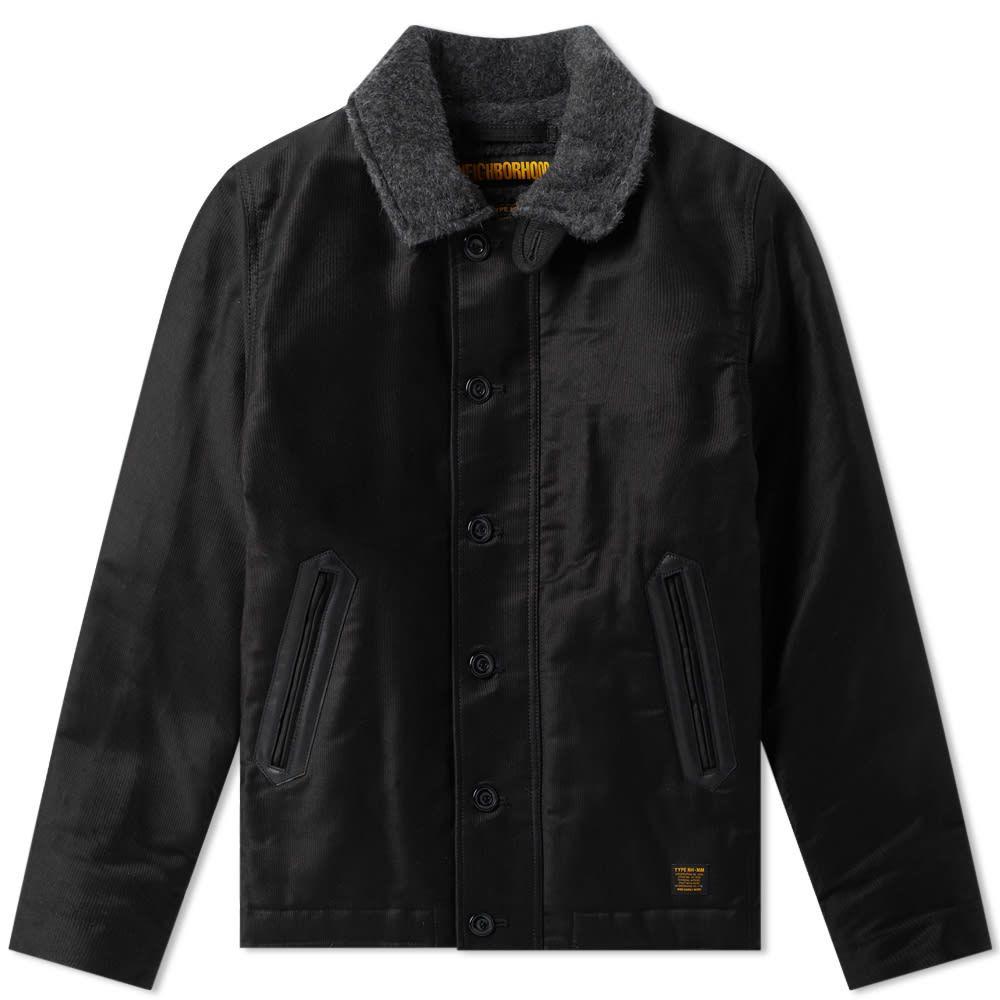 ネイバーフッド Neighborhood メンズ ジャケット アウター【n-1d jacket】Black