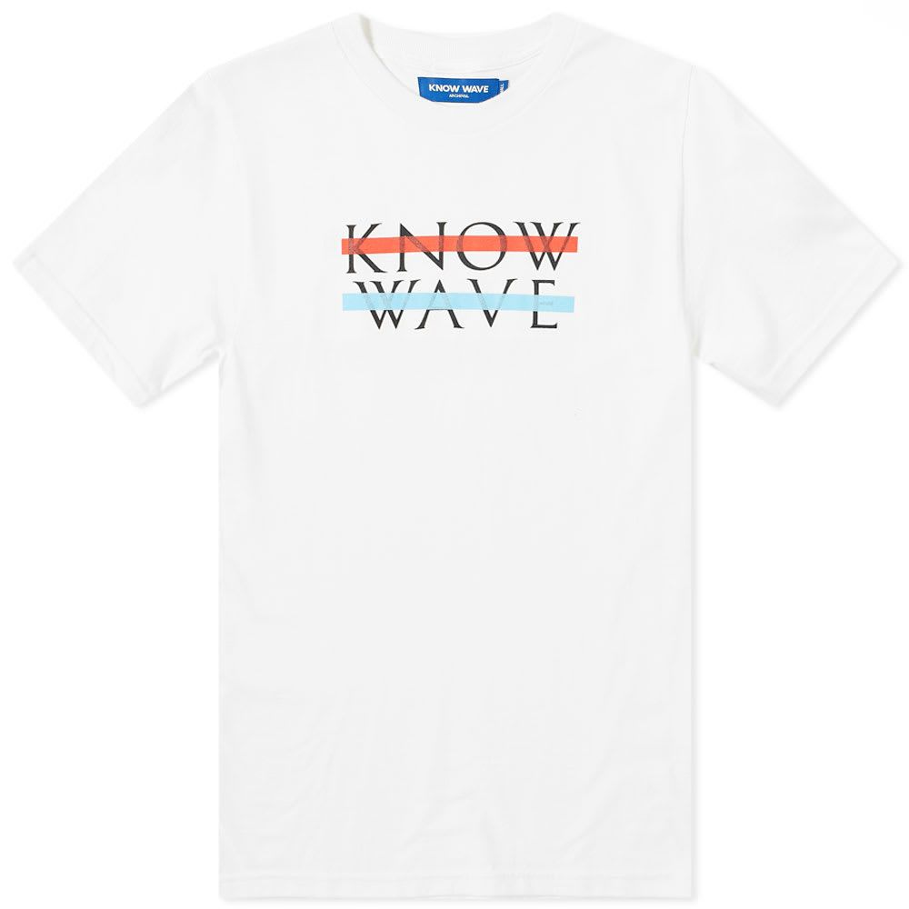 ノウ ウェイブ Know Wave メンズ Tシャツ トップス【x black dice classic wavelength tee】White