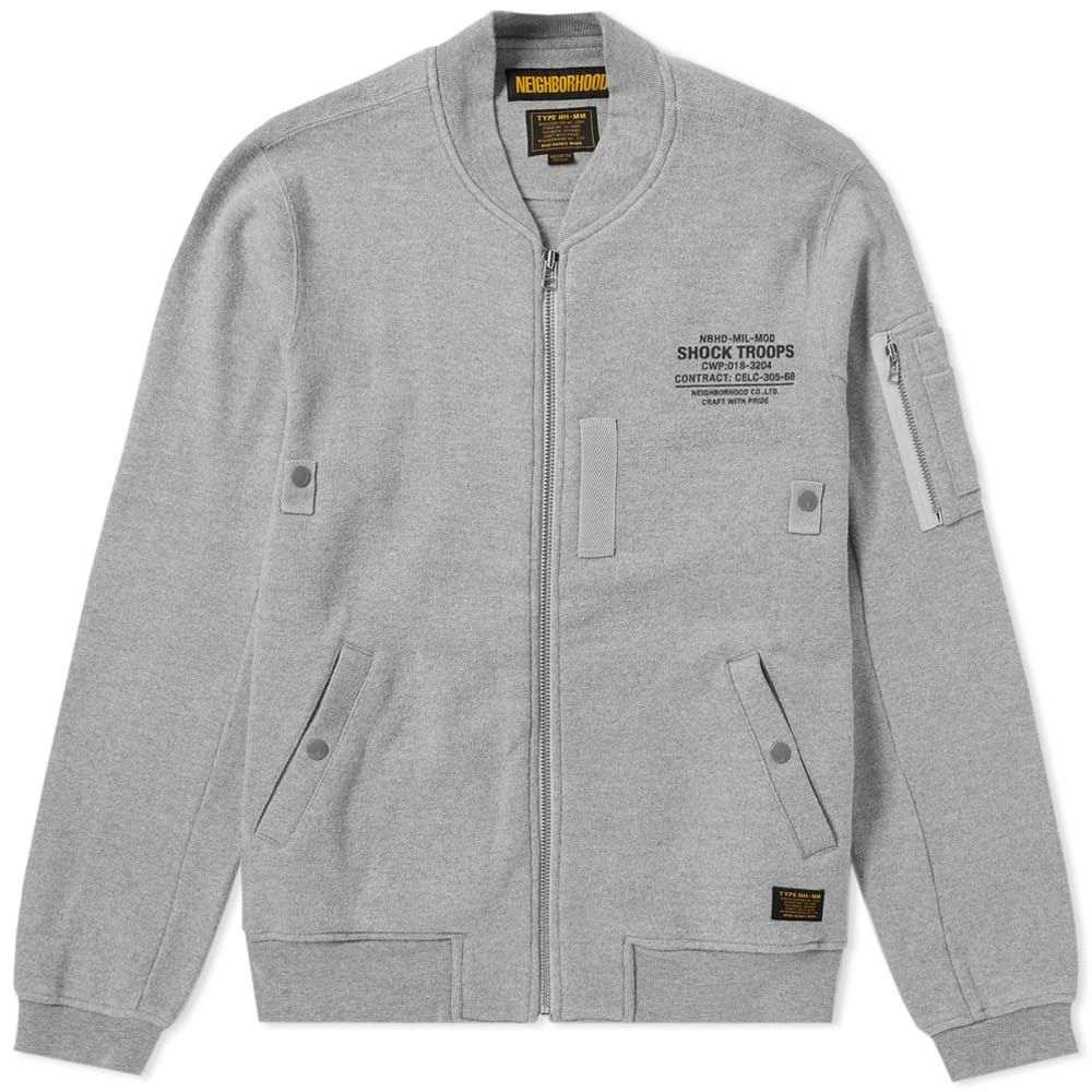 ネイバーフッド Neighborhood メンズ カーディガン トップス【ma-1 smooth cardigan】Grey