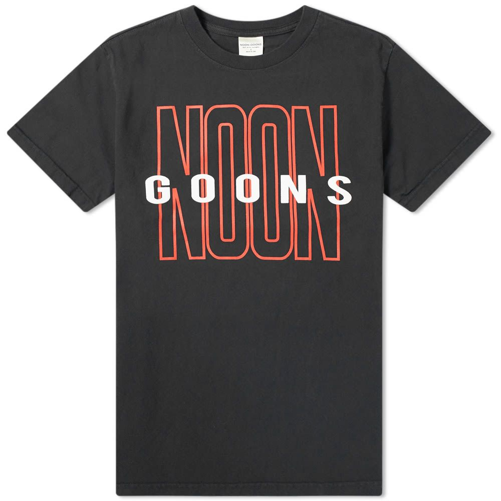 ヌーン グーンズ Noon Goons メンズ Tシャツ トップス【tall good tee】Black