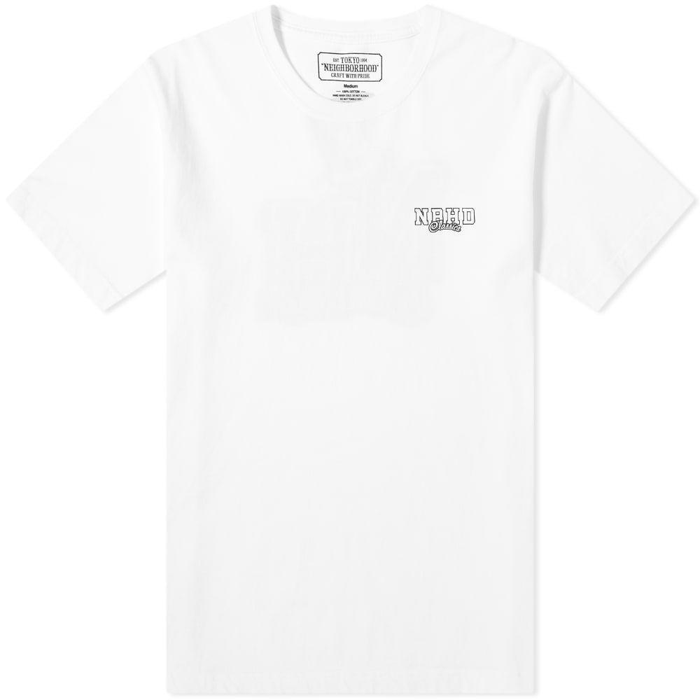 ネイバーフッド Neighborhood メンズ Tシャツ トップス【nh classics tee】White