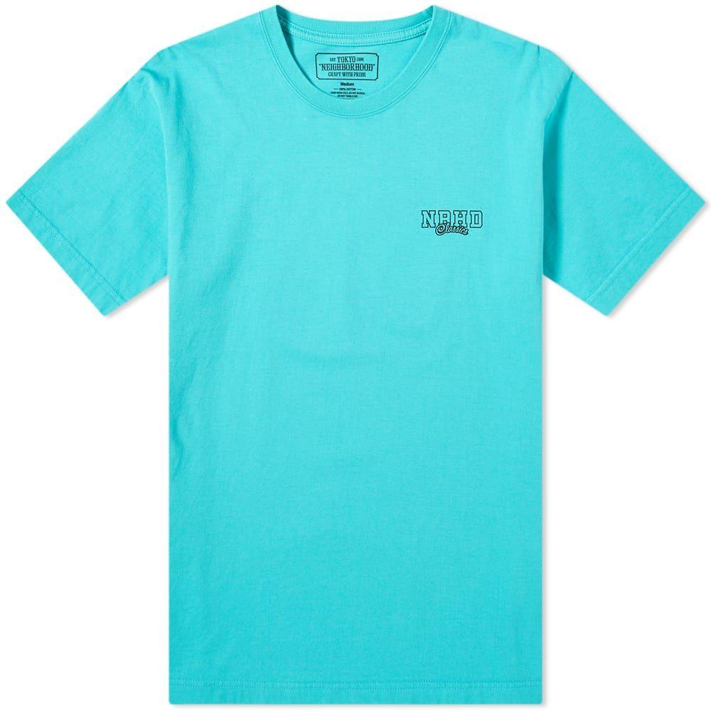 ネイバーフッド Neighborhood メンズ Tシャツ トップス【nh classics tee】Mint