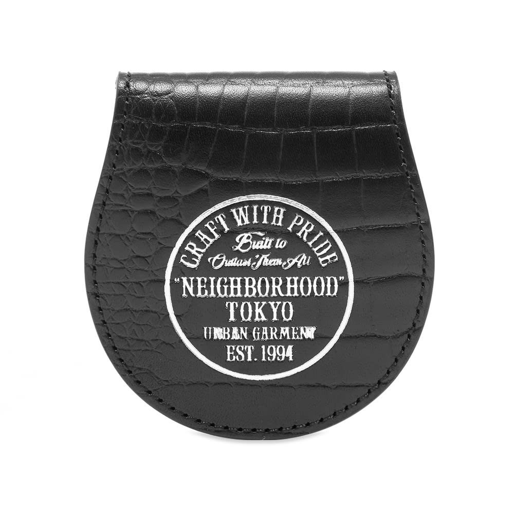 ネイバーフッド Neighborhood メンズ 財布 コインケース【dime coin case】Black