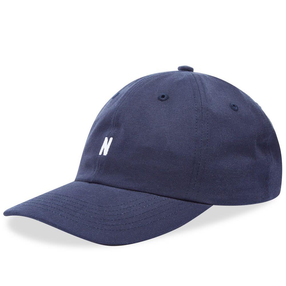ノースプロジェクト Norse Projects メンズ キャップ 帽子【twill sports cap】Dark Navy