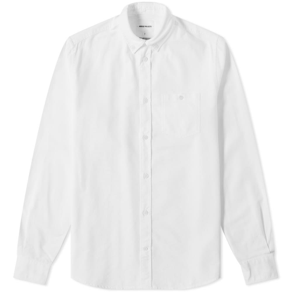 ノースプロジェクト Norse Projects メンズ シャツ トップス【anton oxford shirt】White