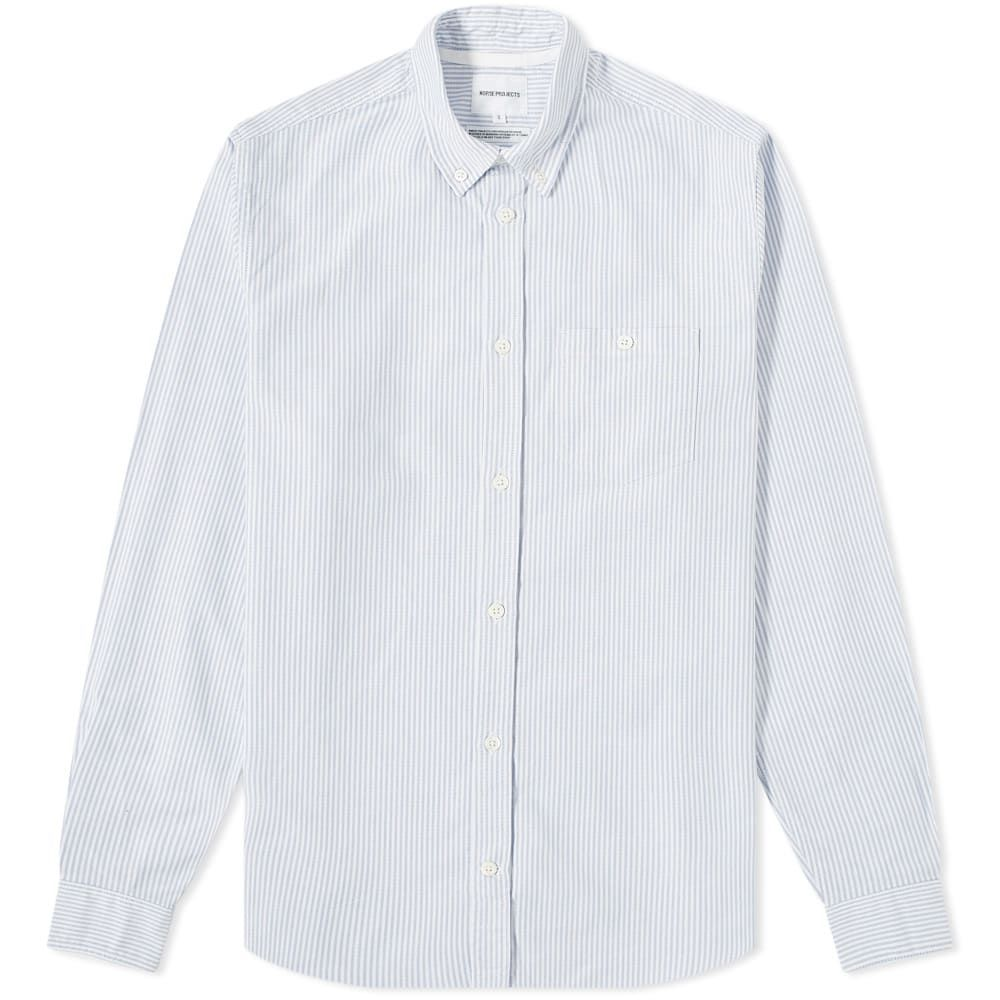 ノースプロジェクト Norse Projects メンズ シャツ トップス【anton oxford shirt】Blue Stripe