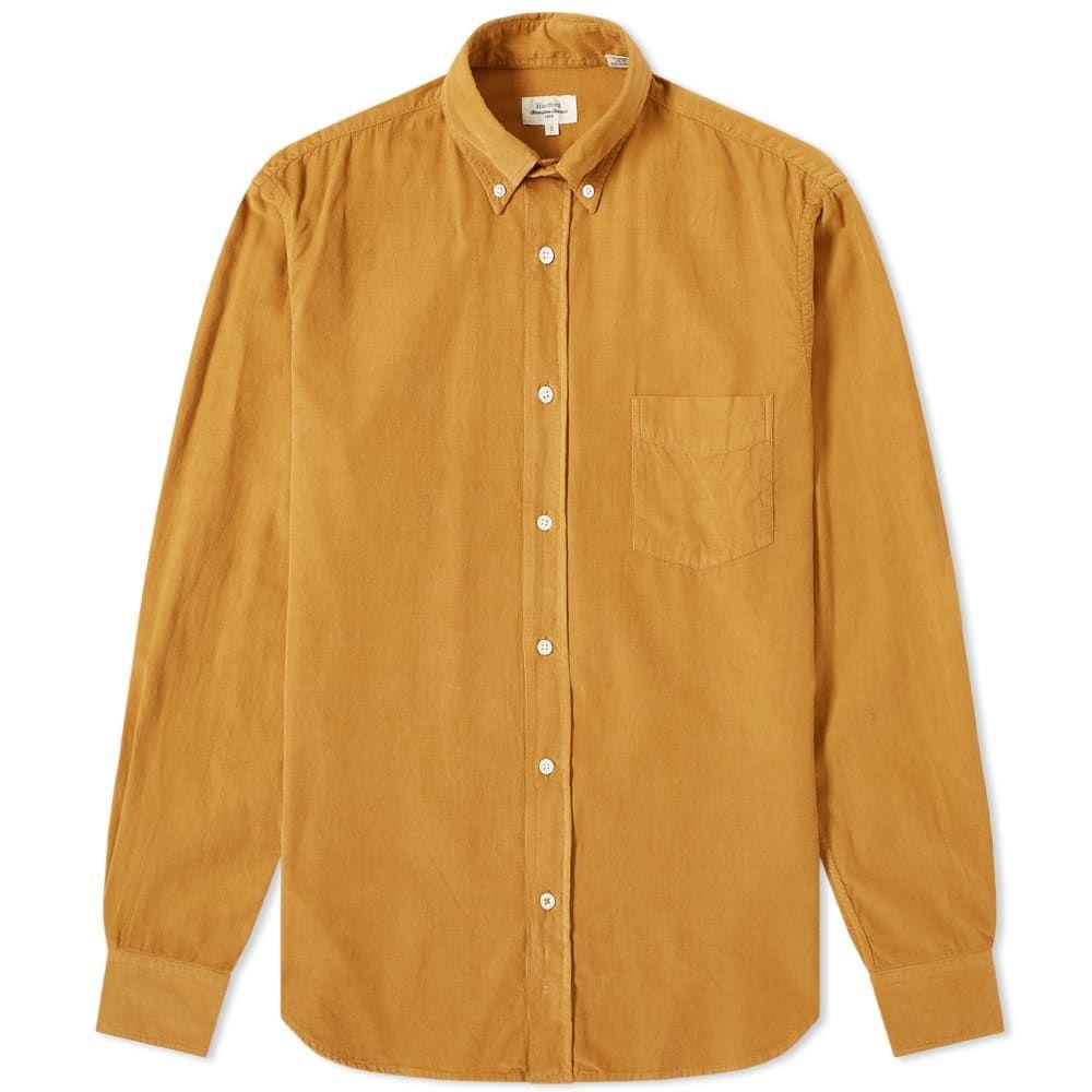 ハートフォード Hartford メンズ シャツ トップス【pal baby cord shirt】Honey