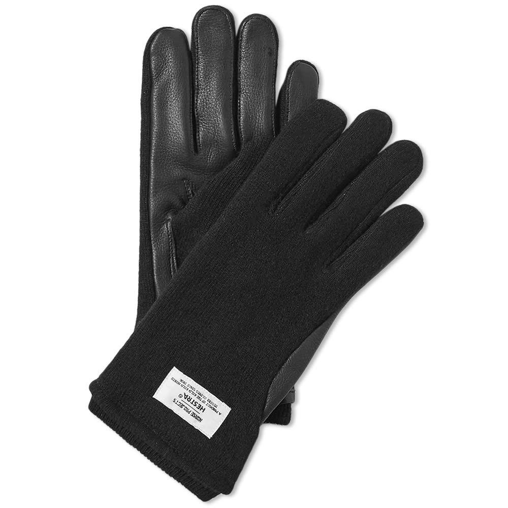 ノースプロジェクト Norse Projects メンズ 手袋・グローブ 【x hestra svante glove】Black
