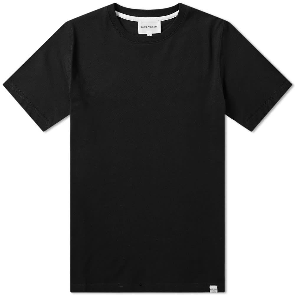 ノースプロジェクト Norse Projects メンズ Tシャツ トップス【niels standard tee】Black