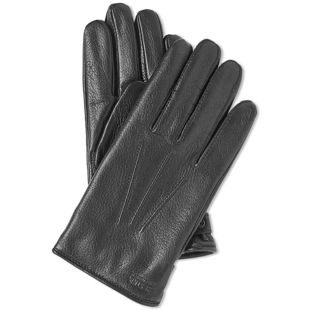 ノースプロジェクト Norse Projects メンズ 手袋・グローブ 【x hestra salen glove】Black