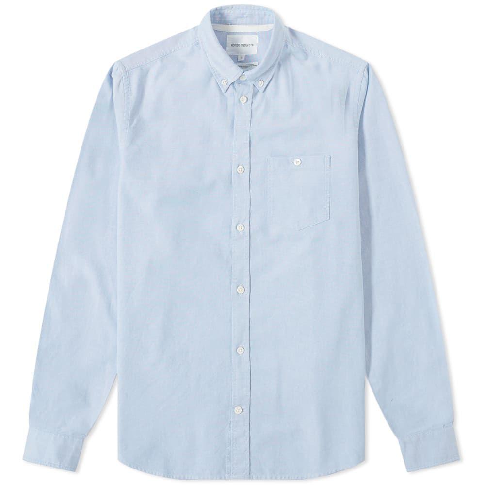 ノースプロジェクト Norse Projects メンズ シャツ トップス【anton oxford shirt】Pale Blue