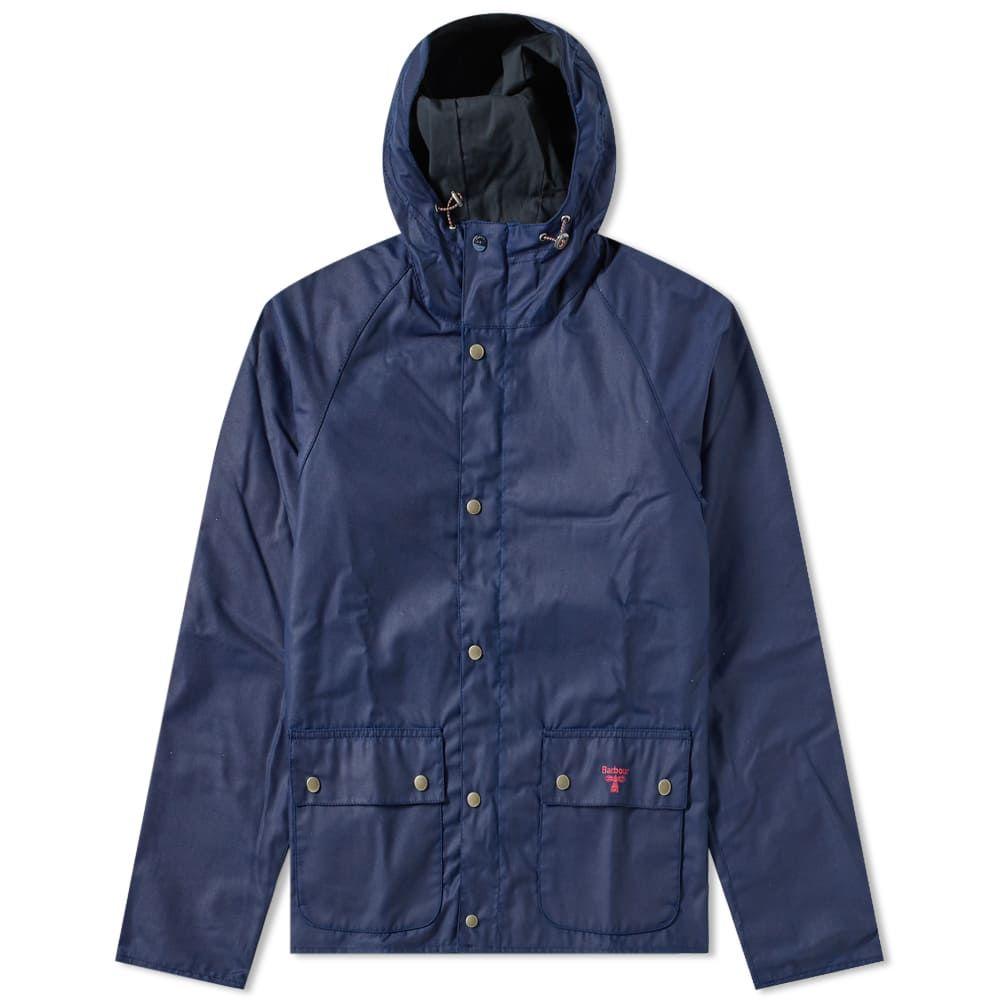 バーブァー Barbour メンズ ジャケット アウター【pass wax jacket】Regal Blue