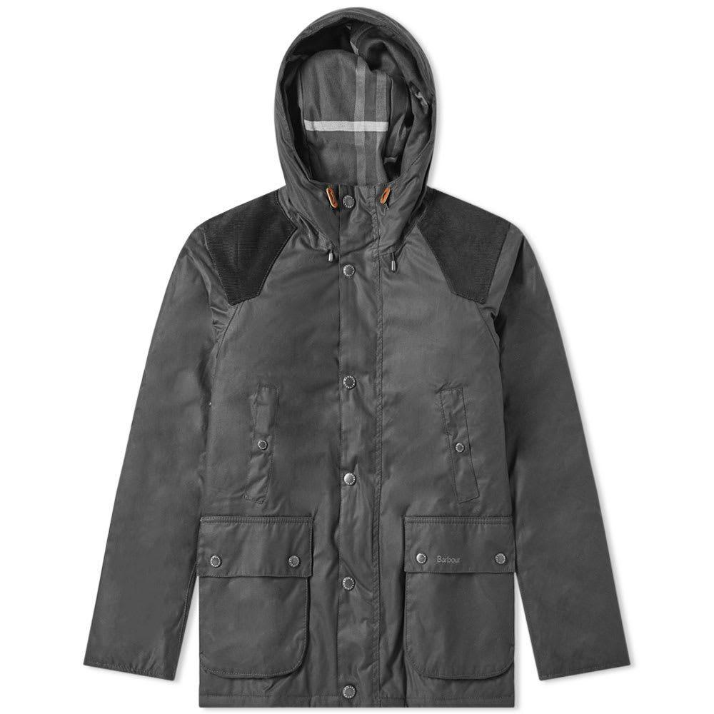 バーブァー Barbour メンズ ジャケット アウター【louth wax jacket】Black