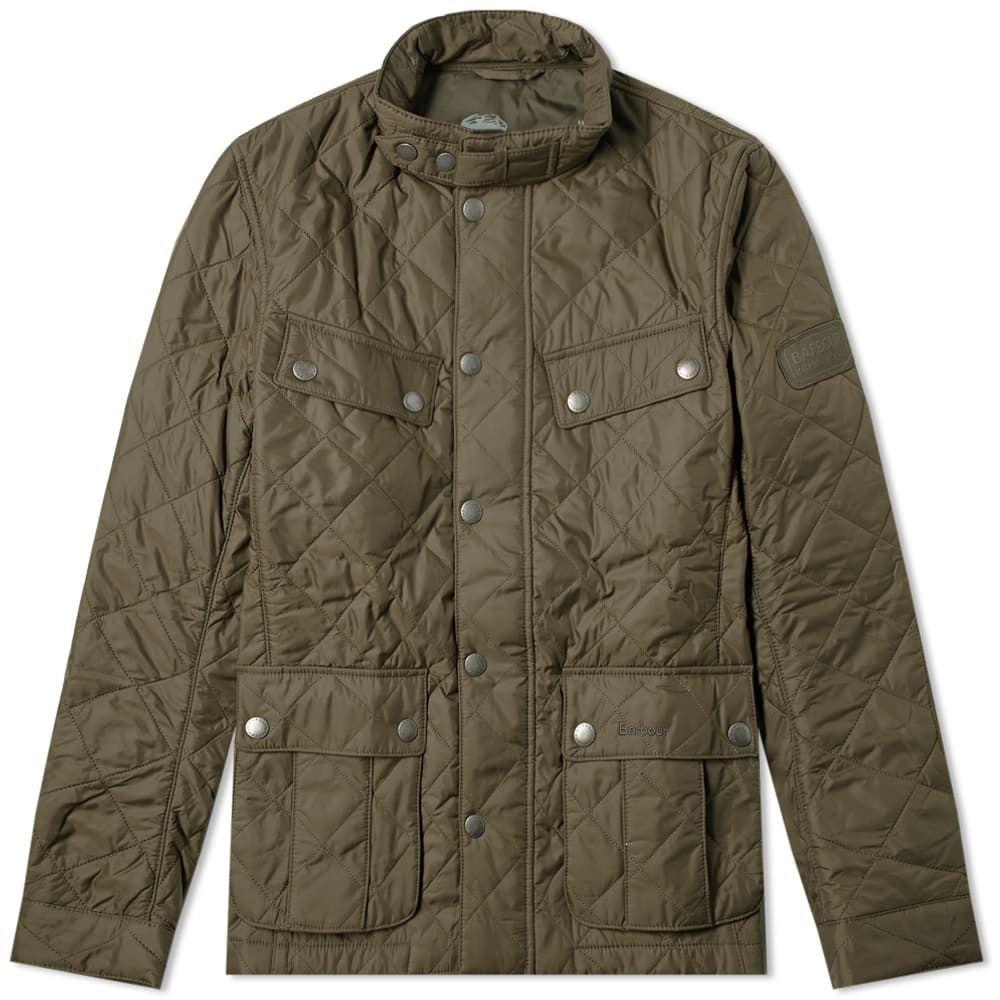 バーブァー Barbour メンズ ジャケット アウター【international ariel quilt jacket】Olive
