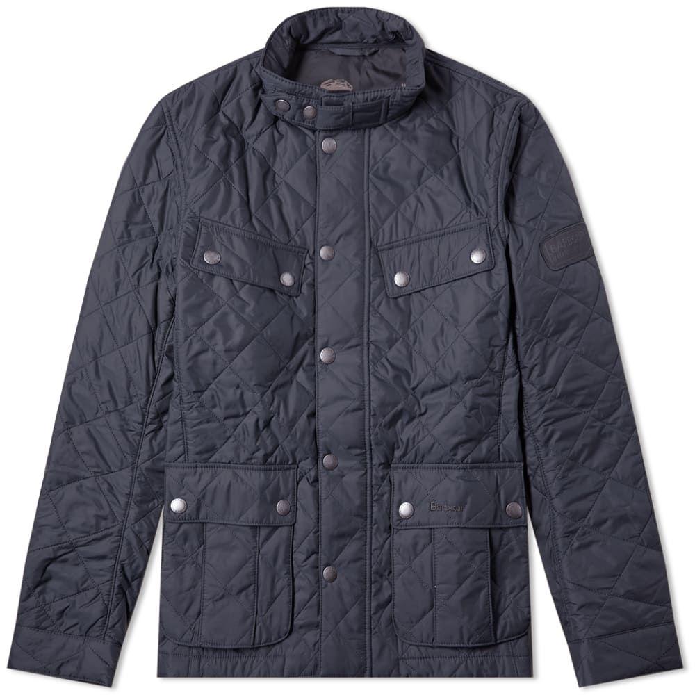 バーブァー Barbour メンズ ジャケット アウター【international ariel quilt jacket】Navy