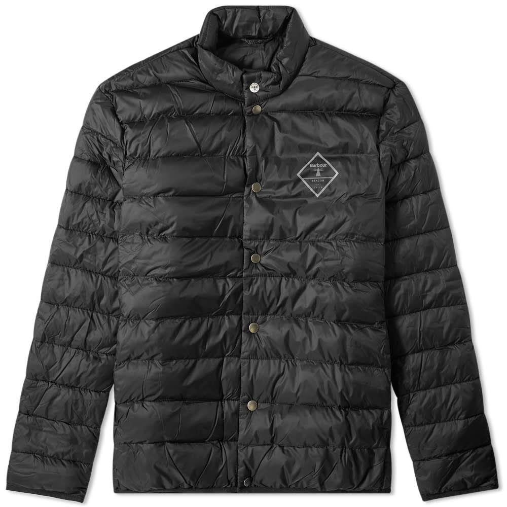 バーブァー Barbour メンズ ジャケット アウター【sergeant quilted jacket】Black