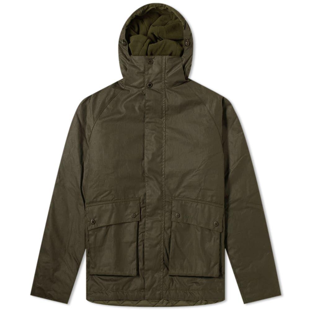 バーブァー Barbour メンズ ジャケット アウター【fohn wax jacket】Sage