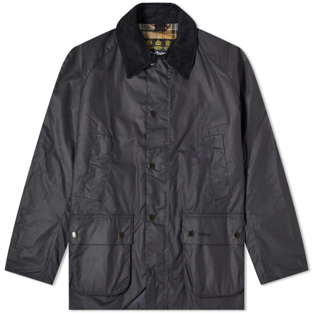 バーブァー Barbour メンズ ジャケット アウター【ashby wax jacket】Navy