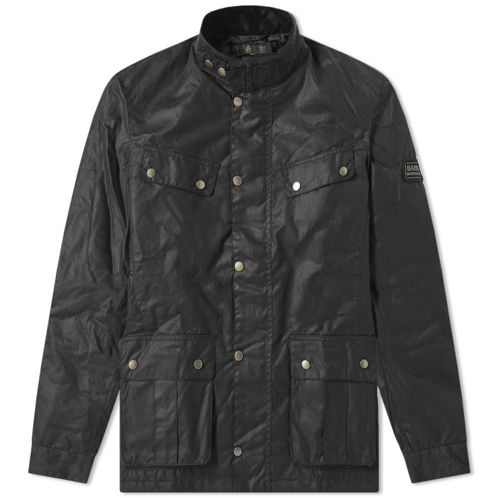 バーブァー Barbour メンズ ジャケット アウター【international duke wax jacket】Black