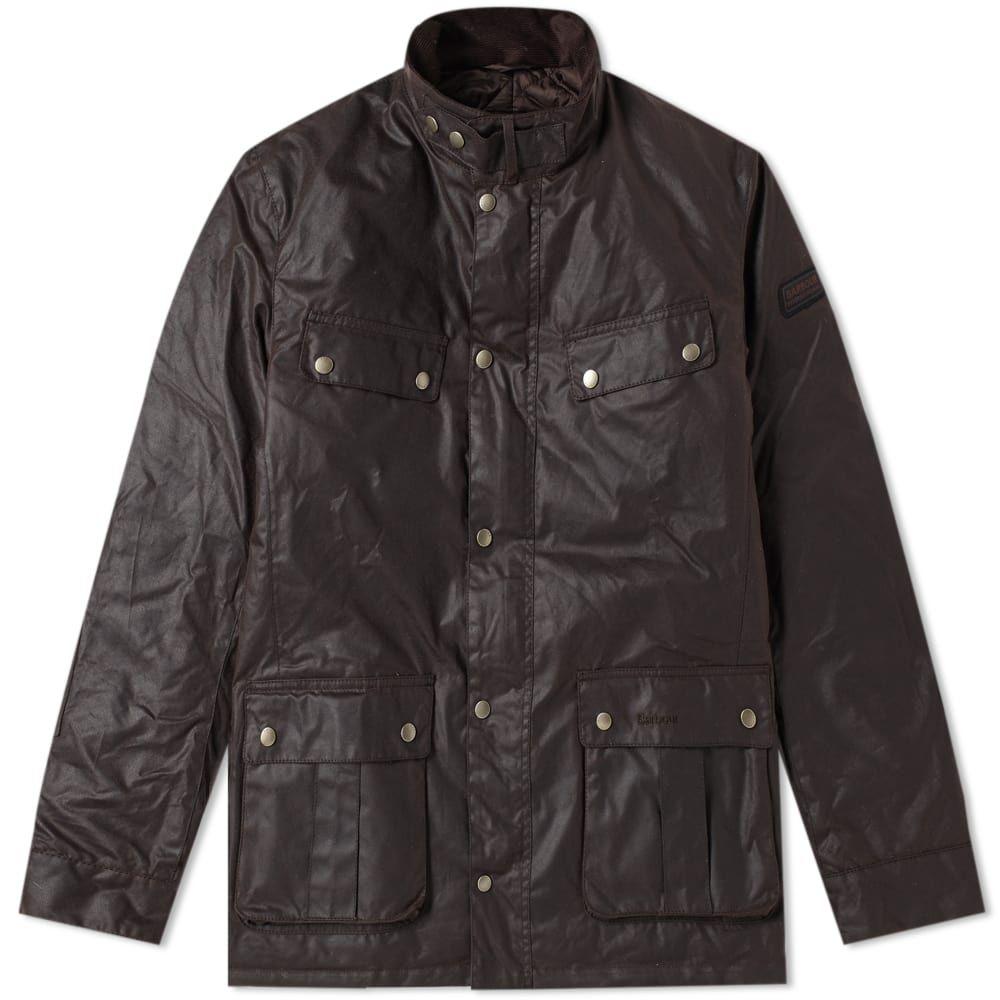 バーブァー Barbour メンズ ジャケット アウター【international duke wax jacket】Rustic