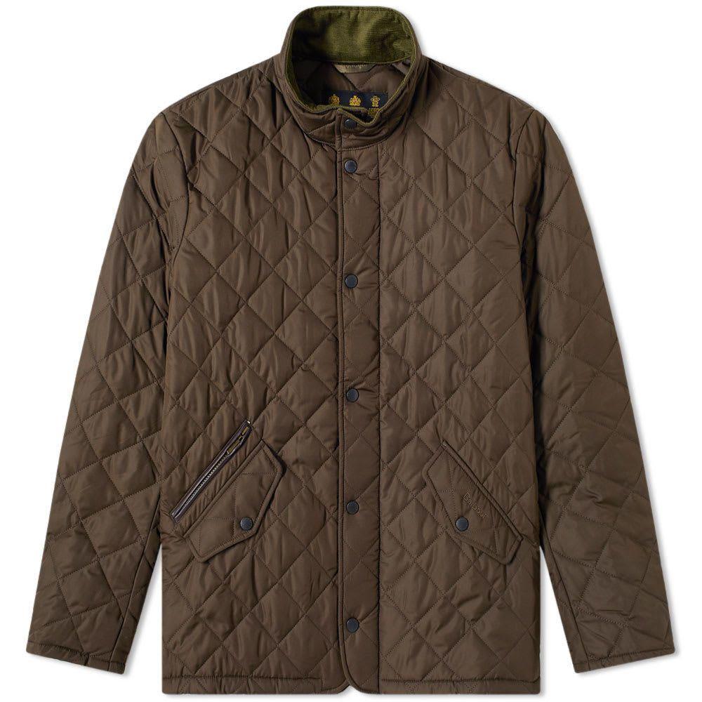 バーブァー Barbour メンズ ジャケット アウター【chelsea sportsquilt jacket】Olive