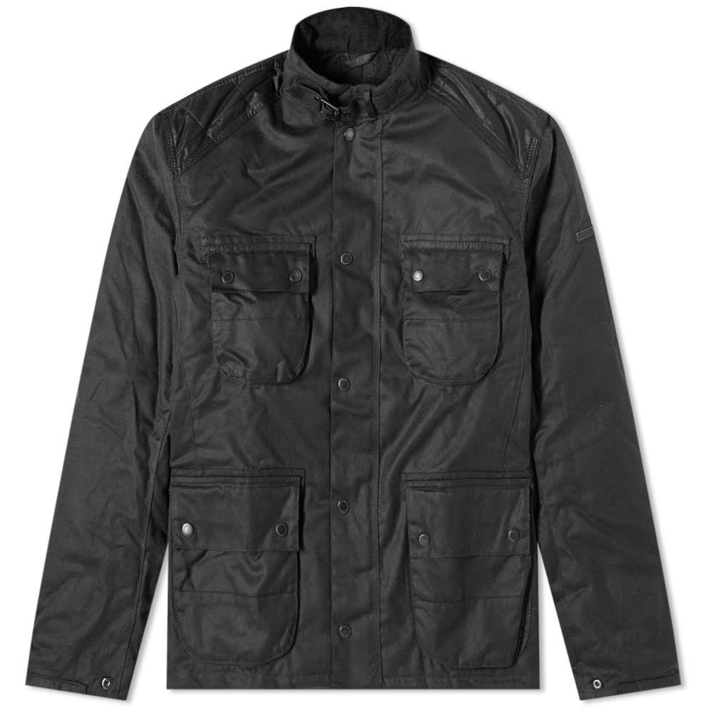 バーブァー Barbour メンズ ジャケット アウター【international weir wax jacket】Black