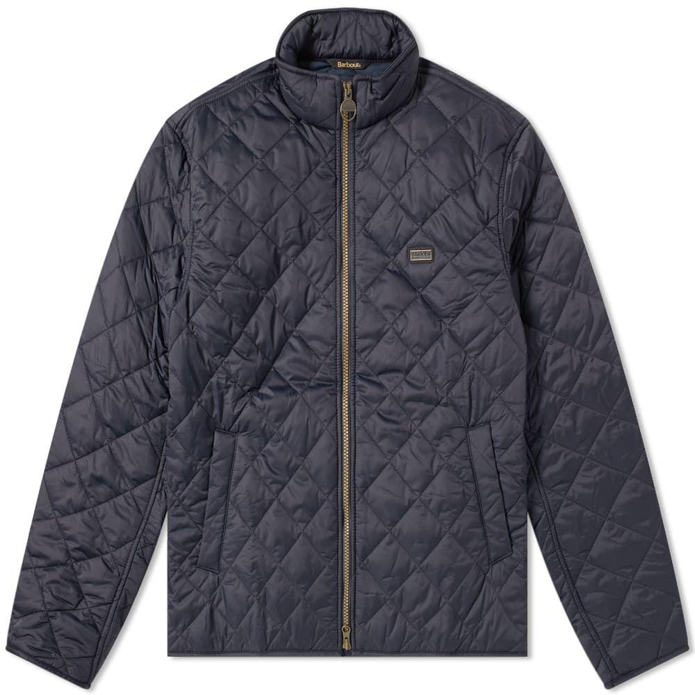 バーブァー Barbour メンズ ジャケット アウター【international quilt gear jacket】Navy