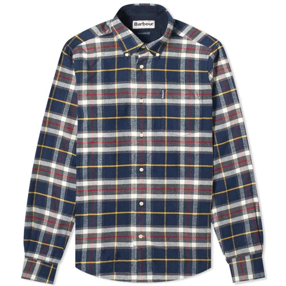 バーブァー Barbour メンズ シャツ トップス【highland check shirt】Navy