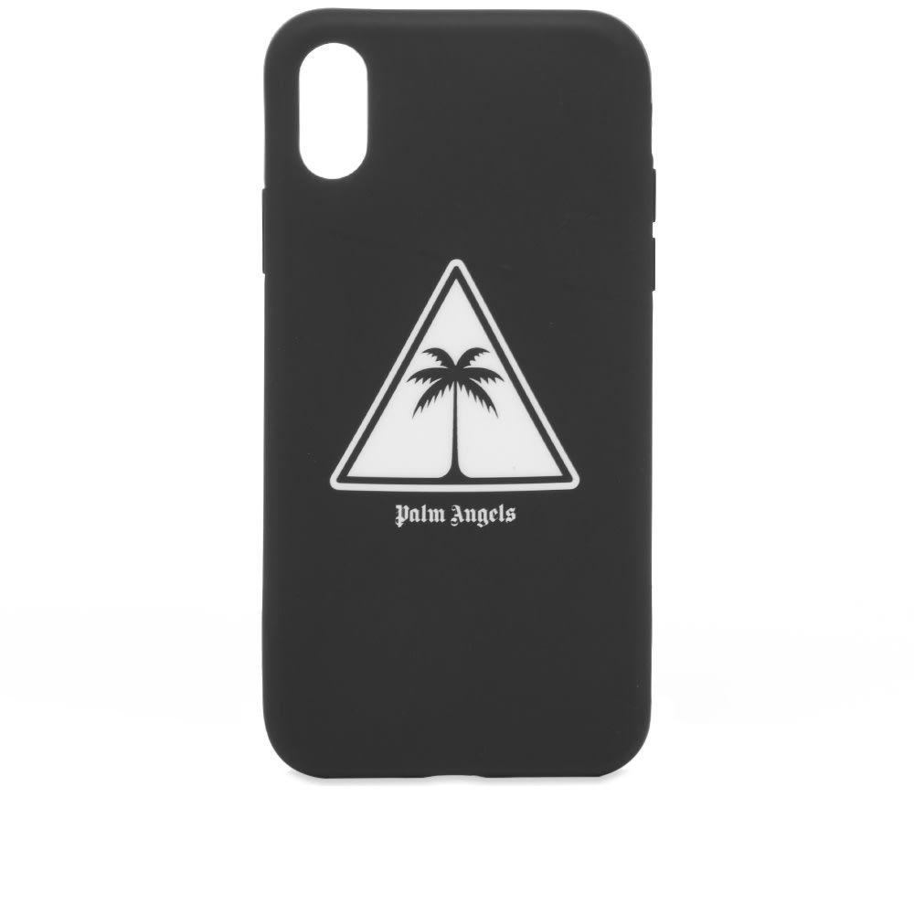 パーム エンジェルス Palm Angels メンズ iPhoneケース 【palm logo iphone case】Black