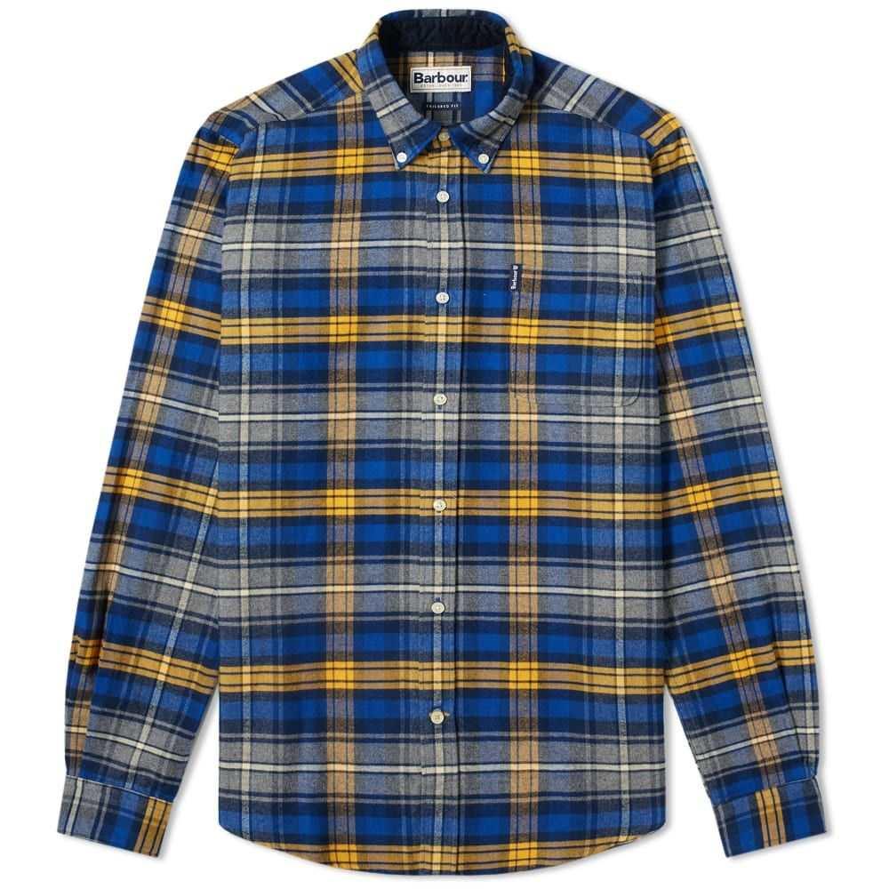 バーブァー Barbour メンズ シャツ トップス【highland check shirt】Mustard