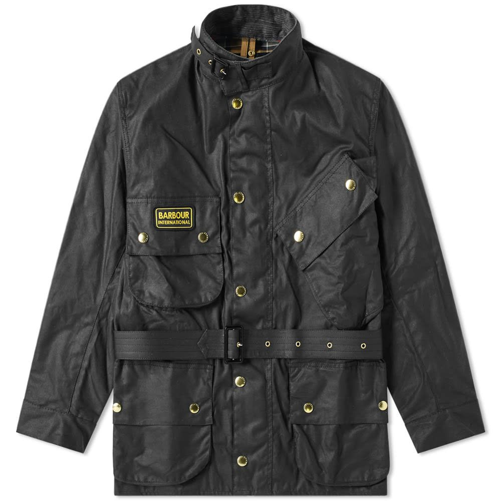 バーブァー Barbour メンズ ジャケット アウター【international original international jacket】Black