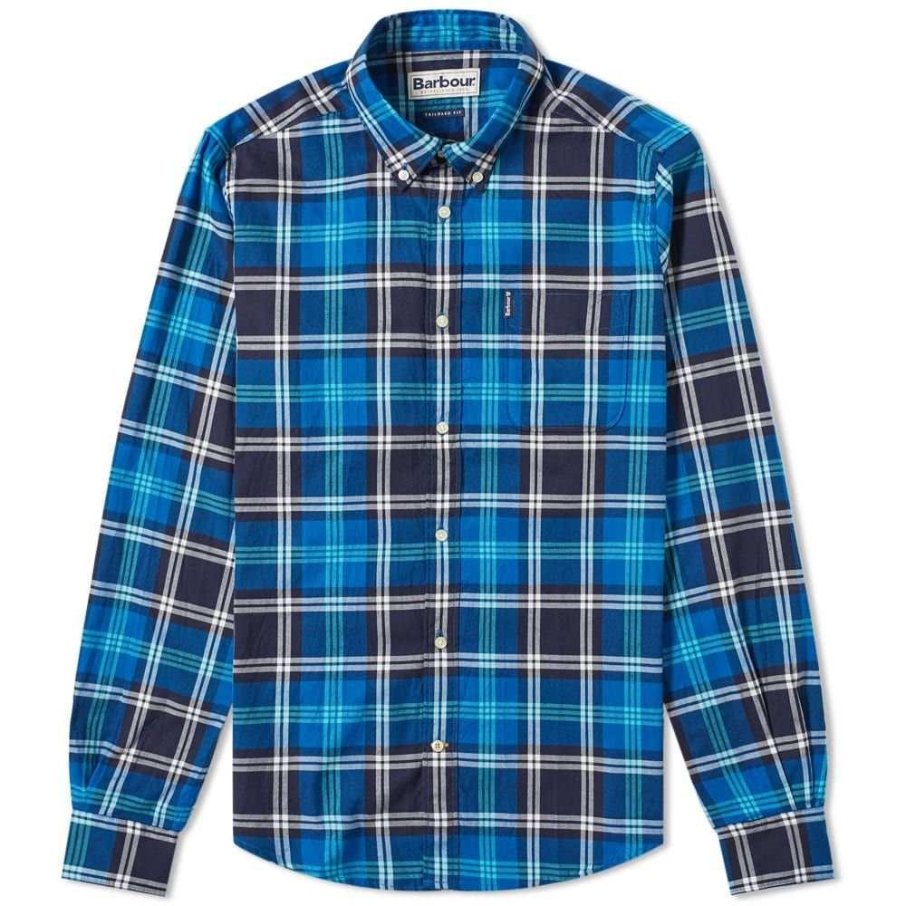 バーブァー Barbour メンズ シャツ トップス【highland check shirt】Blue