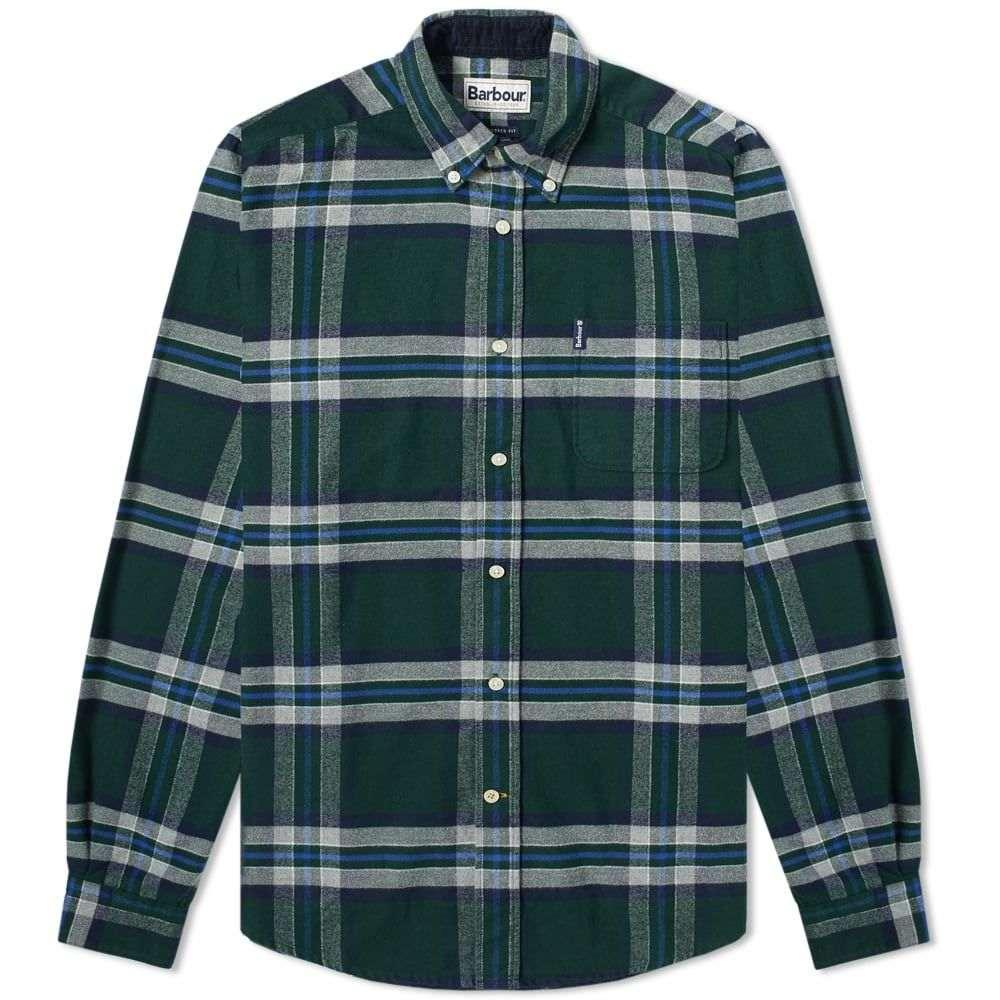 バーブァー Barbour メンズ シャツ トップス【highland check shirt】Seaweed