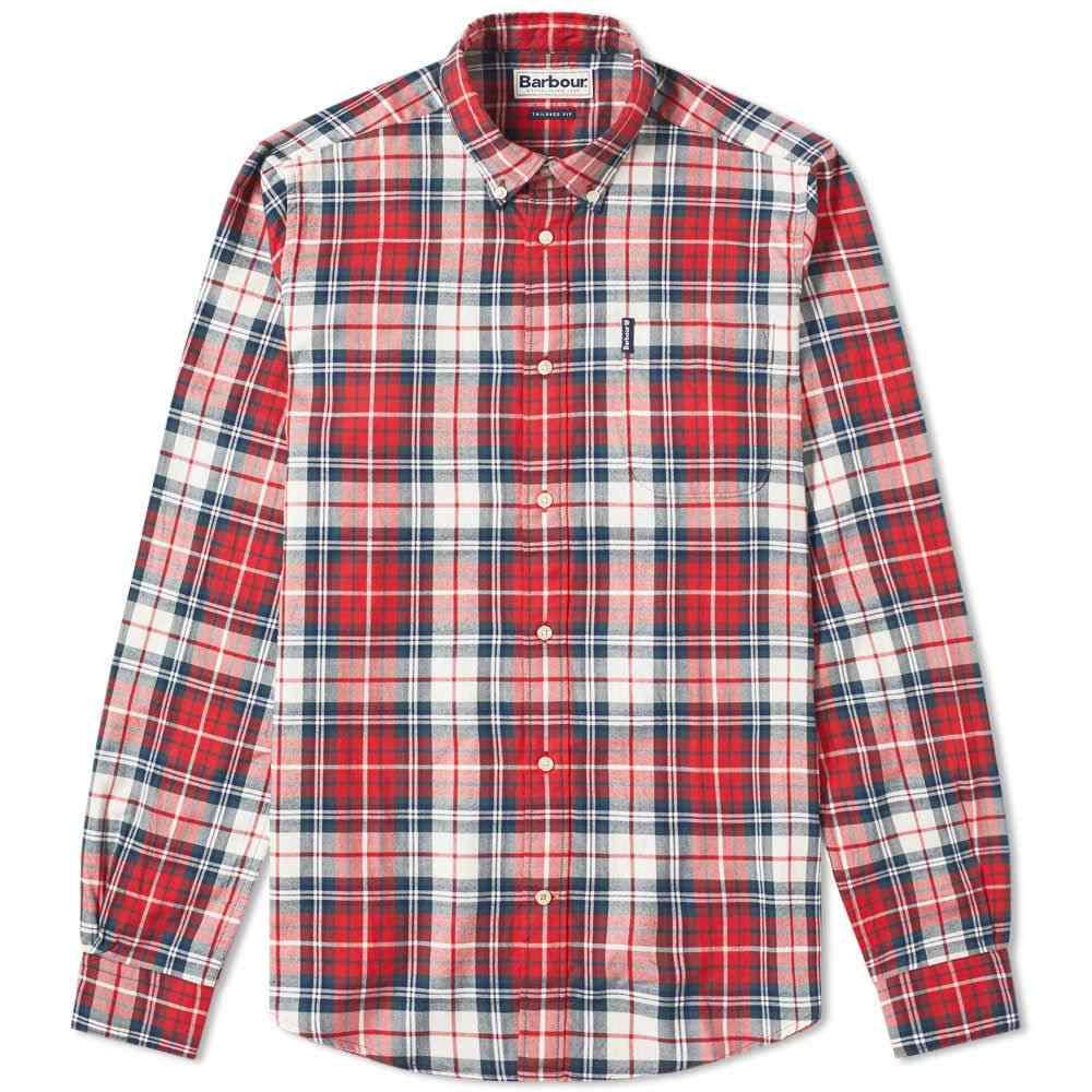 バーブァー Barbour メンズ シャツ トップス【highland check shirt】Red