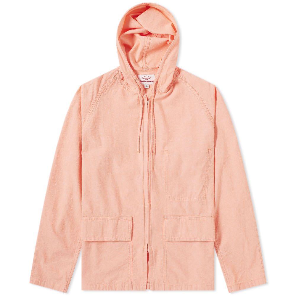 バテンウェア Battenwear メンズ コート アウター【beach parka】Coral