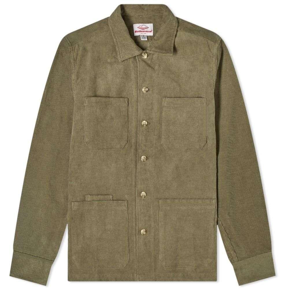 バテンウェア Battenwear メンズ シャツ トップス【five pocket canyon shirt】Olive